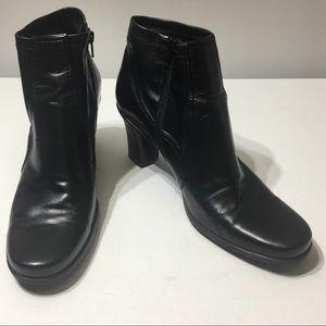 Franco Sarto Black Boots Size 7.5